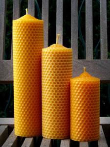 Candele ecologiche luce naturale vivessenza blog - Cera d api per legno esterno ...