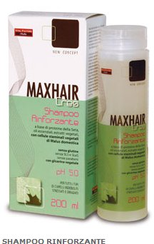Shampoo Rinforzante Anticaduta - MaxHair Cres - 200 ml