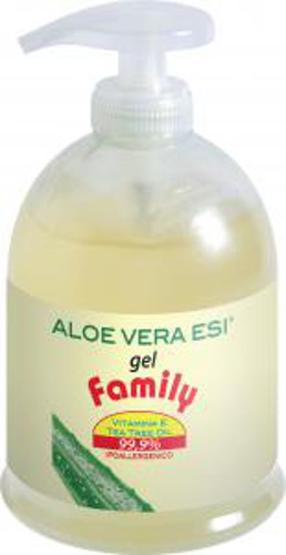 Aloe Vera Gel Family con Tea Tree - Esi - 500ml