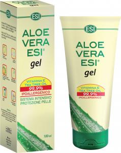 Aloe Vera Gel puro + Vitamina E + Tea Tree - Esi - 200ml