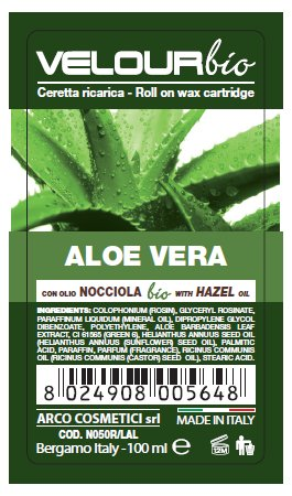 Cera a rullo-Ceretta Roll On all'Aloe - Bio Velour -100ml