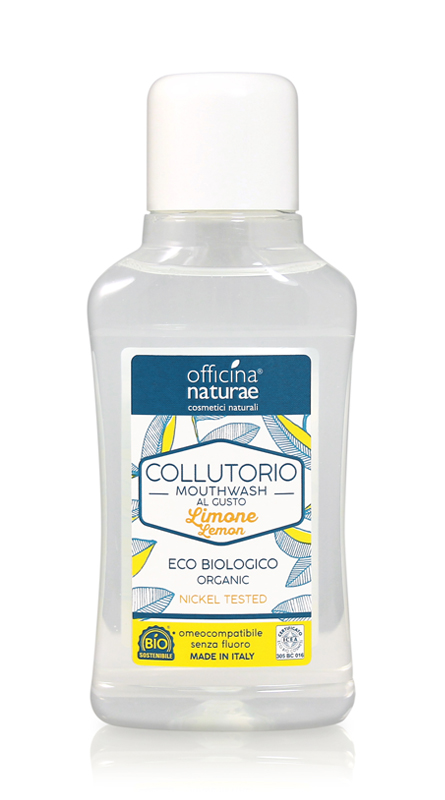 Colluttorio al Limone Eco biologico Omeopatico - 250ml