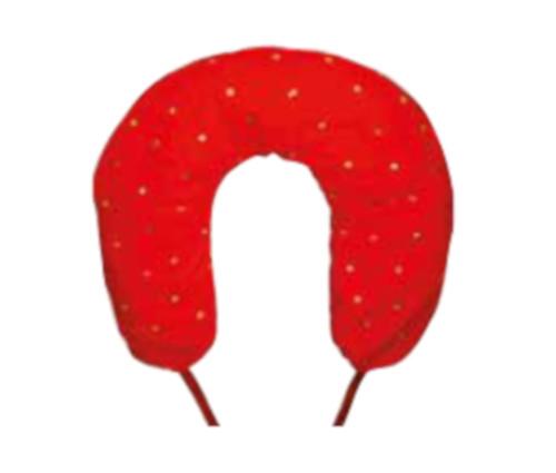 Cuscini Di Noccioli Di Ciliegia Per Cervicale.Cuscino Collare Cervicale Con Noccioli Di Ciliegia 37x33cm