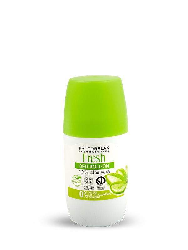 Deodorante senza alluminio - Roll on Aloe Bio Fresh Deo 50ml