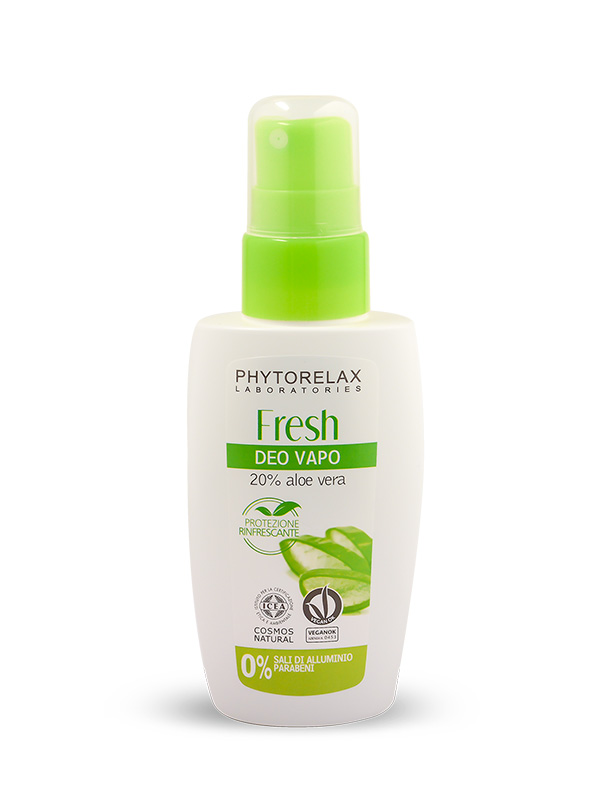 Deodorante senza alluminio - Spray Aloe Bio Fresh Deo Vapo 75ml