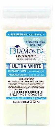 Cera a rullo - Roll On senza colofonia Diamond Ultra White 100ml