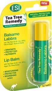 Balsamo Labbra - Tea Tree Remedy - Stick burrocacao 5,7 ml