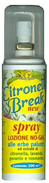 Citronella Latte Break - Emulsione antizanzare alle erbe -100 ml