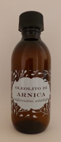 Olio di Arnica Oleolito Vegetale - 110 ml - Officina Naturae