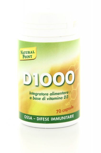 D1000 Integratore alimentare a base di Vitamina D Natural Point