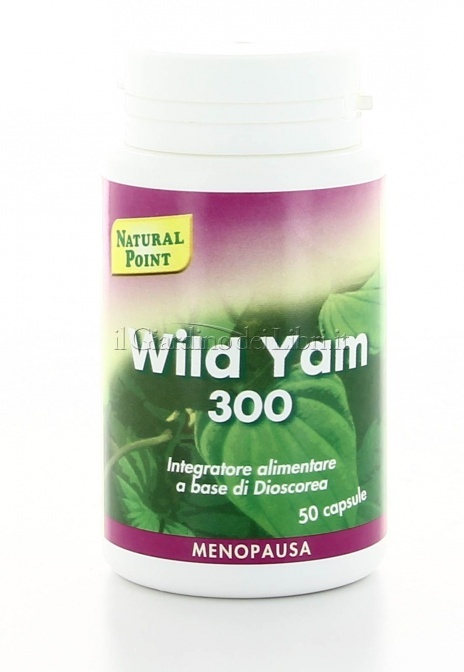 Wild Yam 300 - Menopausa Integratore Dioscorea - Natural Point