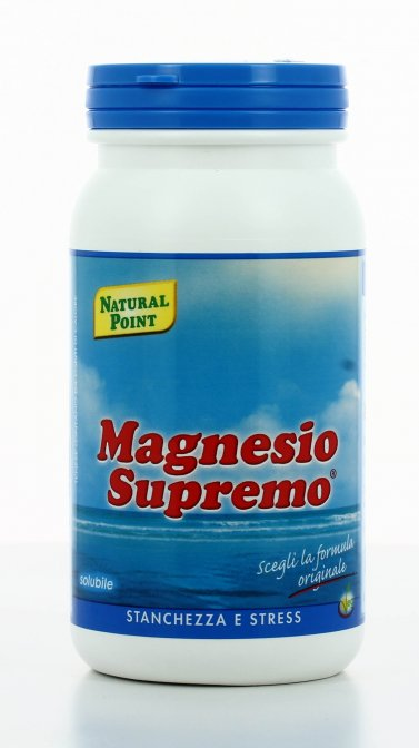 Magnesio Supremo Solubile Stanchezza e stress 150g Natural Point